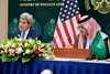 Secretary Kerry Addresses Reporters During News Conference With Foreign Minister al-Faisal Following Meetings in Saudi Arabia (U.S. Department of State) Tags: johnkerry riyadh saudiarabia saudalfaisal