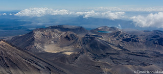 Landscape of Tongariro National Park