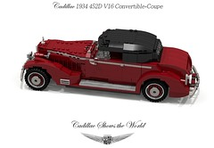 Cadillac 1934 452D V16 Convertible-Coupe (lego911) Tags: auto usa records classic car america 1936 1930s model gm break lego general lets render some convertible cadillac motors longest 88 452 length luxury coupe challenge 1934 sixteen cad fleetwood lugnuts 1935 povray moc v16 heaviest ldd miniland wheelbase harleyearl 452d lego911 193337 452e veesixteen letsbreaksomerecords