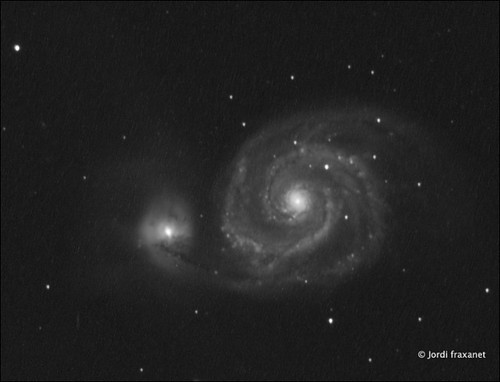 Galaxy Messier 51 15/06/13
