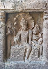 Couple de Roi-Nâga (Ajanta, Inde)