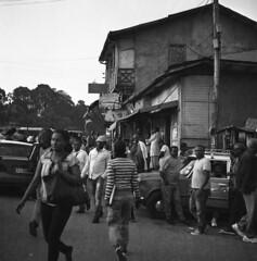 Addis street (Felipe Cárdenas-Támara) Tags: rolleiflexautomat6x6modelk4a rolleiflexjune1951march1954 rolleiflextlr rolleiflex ethiopia etiopía felipecárdenastámara photofelipecárdenastámara colombianphotographers ilfordpanf50plus zeissjenatessar3575 analogphotography analoguephotography felipecardenasphotography