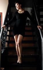 Jelai (joelCgarcia) Tags: portrait glamour legs sb600 cls ayalaalabangvillage jelai strobist d700 2470mmf28g pamsresidence