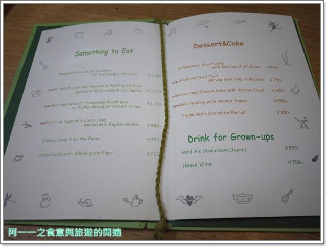 東京美食三鷹之森宮崎駿吉卜力美術館下午茶草帽咖啡館image014