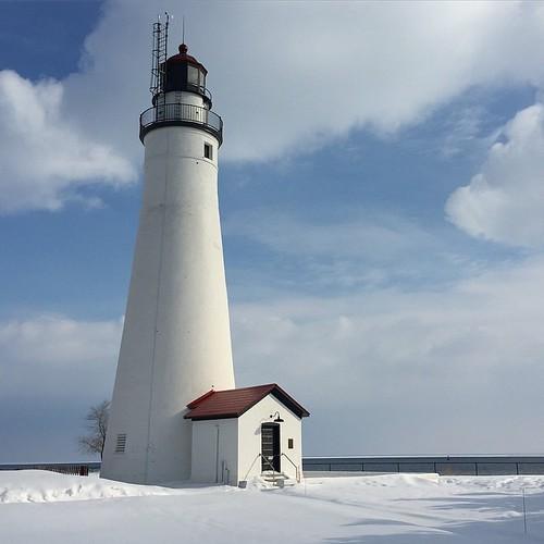 Oldest lighthouse in Michigan, built 1829 #TOroadtrip