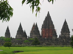 Full View of Prambanan