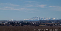 March 15, 2015 - Pikes Peak looks gorgeous on a clear day. (Shawn & Michelle Jones)