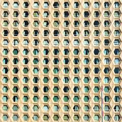 The  Beehive of Rungis (Hervé Marchand) Tags: paris architecture square repetition beehive immeuble carré urbain ruche répétition rungis