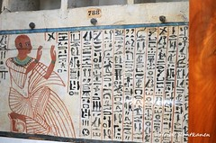 Shabti box of Pakharu (konde) Tags: hieroglyphs thebes ancientegypt cairomuseum newkingdom 20thdynasty shabtibox elassasif ushabtibox pakharu