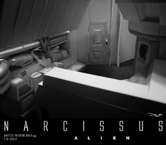 NARCISSUS56 (sith_fire30) Tags: alien narcissus nostromo shuttle lifeboat aliens isolation sevastopol covenant prometheus xenomoph sleep chamber ellen ripley weaver sigourney custom action figures sculpture art sculpting aves fixit sculpt avesstudio diorama scratchbuilding modelmaking