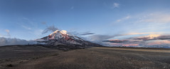 "Volcn Chimborazo ""nevado candente"" (Mr. CHILI) Tags: sunset panorama mountain landscape atardecer volcano ecuador outdoor panoramic alpinismo chimborazo"