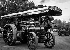 Rail Ale Festival (ian.emerson36) Tags: steam transport tractionengine driver festival blackwhite machine indusrty fowler ale beer canon