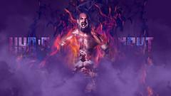 CARTEL | WHO'S NEXT (Holographic Workshop) Tags: adobe photoshop cs6 design wwe wwf wallpaper 1080p purple goldberg smoke whos next flames fire 2k15 dark evil