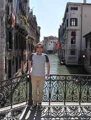 DSC_0007 (bikerchisp) Tags: venice italy ital italia venise canals lagoon bridges gondola holiday vacation europe adriatic sea water waterways streets blue sky bluesky sunshine bikerchisp
