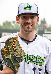 Derek Beasley (lakemonsters2015) Tags: derek beasley derekbeasley vermont lake monsters vermontlakemonsters pitcher