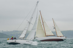Wild Rival and Talsker Mhor (Matchman Devon) Tags: royal dart yacht club classic regatta 2016 talisker mhor wild rival