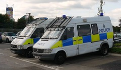 Hertfordshire Police 2009 Stevenage Police Station (@oakhamuk) Tags: hertfordshirepolice 2009 stevenage police station martinbrookes