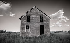 (Rodney Harvey) Tags: abandoned house vermont infrared rural decay stark