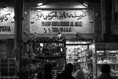 Grand Souk Atmosphere - 04 (EHA73) Tags: leica nightphotography travel blackandwhite bw tourism shop dubai traditional uae streetphotography souk bazar cultural leicamm aposummicronm1250asph typ246
