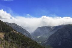 Beartooth Pass, Montana, USA (bmurdock12) Tags: snow storm mountains clouds forest landscape montana pass beartooth
