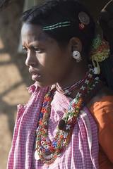 Baiga girl (wietsej) Tags: india girl minolta sony 100mm hills chhattisgarh baiga maikal a77ii a77m2