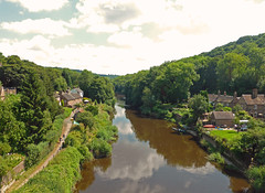 Eastwards Along the River Severn (neuphin) Tags: ironbridge shropshire gorge river severn