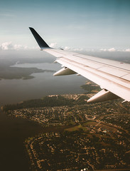 Up&up! (dananguyen) Tags: airplane air upinthesky up sky clouds fly flying nyc newyork usa fromabove