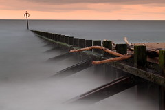 Aberdeen Beach (PeskyMesky) Tags: longexposure sea canon landscape scotland outdoor pov pointofview aberdeen le aberdeenbeach canoneos500d