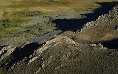US 395 north of Mono Lake (speedcenter2001) Tags: monolake easternsierra owens valley monocounty caldera lake nikonseriese75150mmf35 aerial shadows