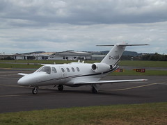 G-LUBB Cessna Citation CJ1 Centerline Air Charter Ltd (Aircaft @ Gloucestershire Airport By James) Tags: gloucestershire airport glubb cessna citation cj1 centreline air charter bizjet egbj james lloyds