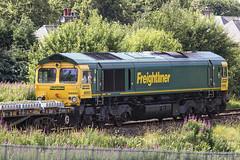 66952 6K24 (Rossco156433) Tags: kilmarnock scotland ayrshire eastayrshire train loco locomotive diesel engine gbrf class66 shed freight gbrailfreight electromotivediesel generalmotors networkrail engineering 66952
