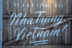 Welcome! (OpersembeArt) Tags: vietnam bacpacking trip village canon 700d eos canon700d canoneos700d eos700 green blue contrast insense vietnamese garden monks tree trees moss outdoor lilypad lily water waterlily purple yellow serene bright nha trang russian holiday resort sky bar panorama view