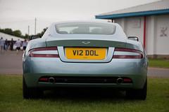 Aston Martin DB9 (torquayadam) Tags: canon 5d mark ii mk2 castle combe bristol motor club 24 july 2016 aston martin db9 v12 blue v12dol