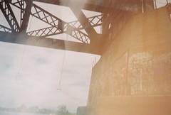 The Bridge (tylerneedham) Tags: lake havasu arizona bridge film travel explore swing rope train trestle concrete