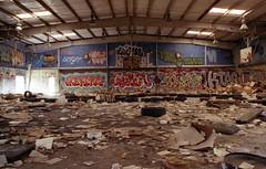 The Gymnast (Industrial Relics Photography) Tags: abandoned urbex urban exploration nikon n75 nikkor 2880mm 33 g trains fujifilm superia xtra 400 35mm