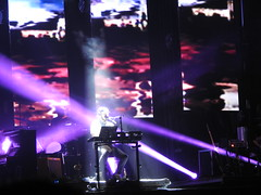 (kristen mckeithan) Tags: eaux claires 2016 eauxclaireswi music festival eau claire wisconsin august 12th nightfall night dark justin vernon bon iver 22 million spotlights