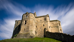 Warkworth Castle (Northern Kev) Tags: warkworthcastle castle warkworth northumberland northeast north d7200 nikond7200 nikon nikon1855 10stopper longexposure sky clouds shadow shadows ancient building architecture outdoor