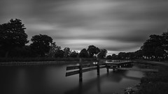 By the canal (jarnasen) Tags: d810 nikon nikkor 1635mmf4 bnw mono monochrome noiretblanc blackandwhite longexposure le leefilters leesuperstopper superstopper nd15 ndfilter tripod canal water waterway jetty trees smooth calm movingclouds sky clouds nordiclandscape nature landscape landskap gtakanal stergtland sweden sverige ljung dark mood copyright jrnsen jarnasen bank swaying scandinavia daylight daytime