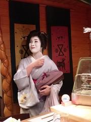 Geiko in Kyoto (luckypenguin) Tags: japan kyoto tradition geiko geisha