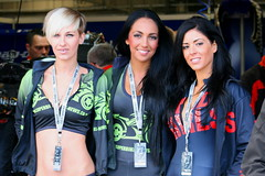 Brollie Dollies (People,Places & things I like..) Tags: brollie dollied babes pitbabes sexy naughty hot tease flags brands hatch silverstone pits promotion blondes sisters twins kawasaki swan honda suzuki