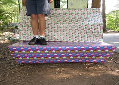 Gift Wrapped Bench Monday (pikespice) Tags: 10millionphotos werehere hereios giftwrap wrappingpaper bench benchmonday hbm