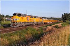UP 9054 (Justin Hardecopf) Tags: up unionpacific 9054 sd70ace business passenger special bellevue nebraska railroad train