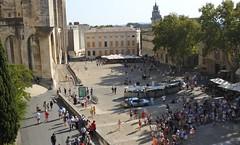 La place du Palais des Papes Avignon (salva1745) Tags: palais des papes davignon