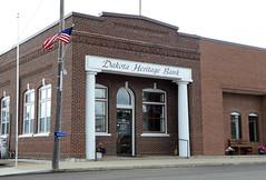 Dakota Heritage Bank, Streeter, North Dakota (Blake Gumprecht) Tags: stutsmancounty northdakota dakotaheritagebank streeter downtown florencestreet businesses stores