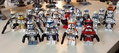 My CAC Collection (Johnny-boi) Tags: lego 2016 clone wars trooper minifigure custom army wolffe cody rex 2017 legos star
