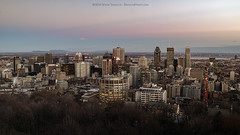 Downtown Montreal at Twilight for the 2014 Photochallenge.org (Steve Troletti Nature & Wildlife Photographer) Tags: park sunset canada skyline photography twilight nikon cityscape image quebec montreal picture royal mount nd beaverlake tiffen vnd d810 mountroyalpark nikond810 variablend