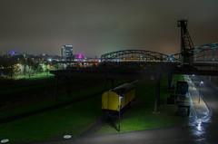 Frankfurt (makromat1) Tags: longexposure night train nacht frankfurt main zug east osten langzeitbelichtung mainkai