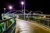 Steel Color (stevenbulman44) Tags: bridge winter light cold color calgary night canon steel walkway alberta transit lseries 1740f40l