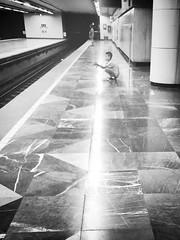 (Roy Gomez V) Tags: blancoynegro mxico blackwhite metro