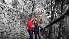 Otoo (hunte77) Tags: autumn hojas san sebastian personas paseo otoo donostia urgul